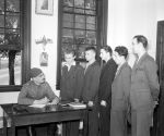 (33641) Recruitment, Polish Army, Volunteers, Windsor, Ontario, 1941