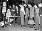 (33642) Red Cross, Blood Drive, Detroit, 1941