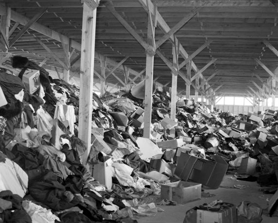 (33644) Salvage, Clothing, Detroit, 1945
