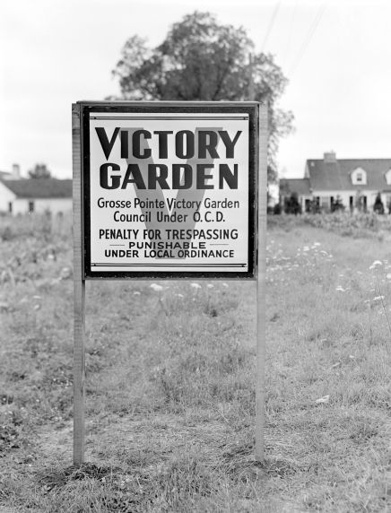 (33648) Food Conservation, Victory Gardens, Grosse Pointe, 1943