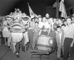 (33690) Celebrations, VJ Day, Chinatown, Detroit, 1945
