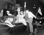 (33692) Celebrations, VJ Day, Downtown Detroit, 1945