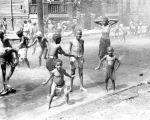 (33807) Street Scene, Children Playing, Black Bottom, Detroit