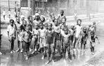 (33808) Street Scenes, Children Playing, Black Bottom, Detroit