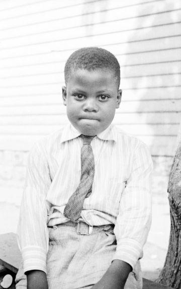 (33818) Portraits, Children, Black Bottom, Detroit