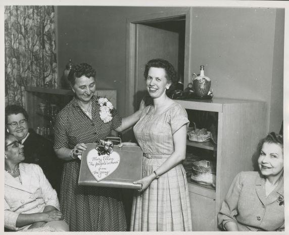 (34032) Mary Ellen Riordan, Antonia Kolar, Detroit Federation of Teachers, Detroit, Michigan, 1960