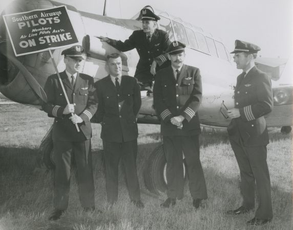 (34247) ALPA, Southern Airways Strike, 1960s
