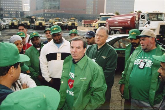 (35057) Gerald McEntee, Lee Saunders, World Trade Center Site, 2001