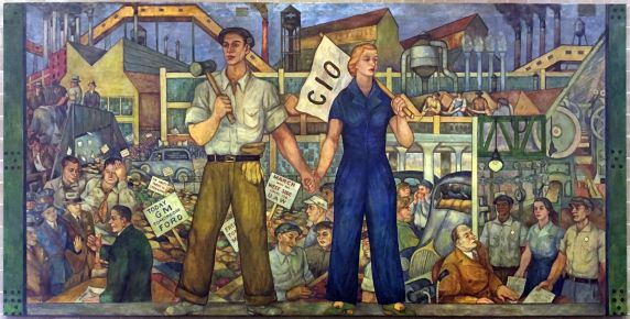 """(35325) Local 174 Mural, """"Untitled,"""" 1937"""