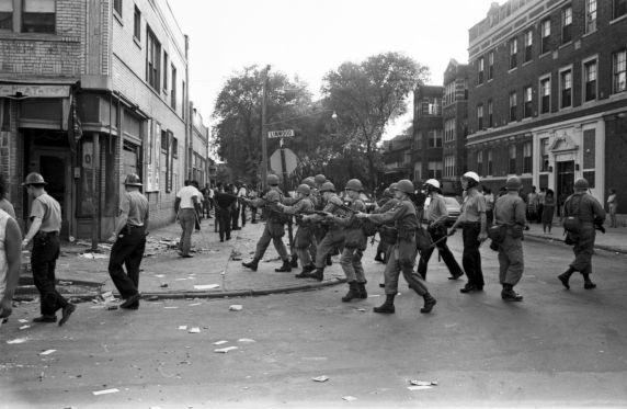 (35777) Riots, Rebellions, National Guard, Patrols, 1967