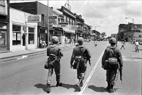 (35782) Riots, Rebellions, Military Patrols, 1967