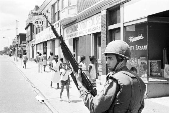 (35792) Riots, Rebellions, Military Patrols, 1967