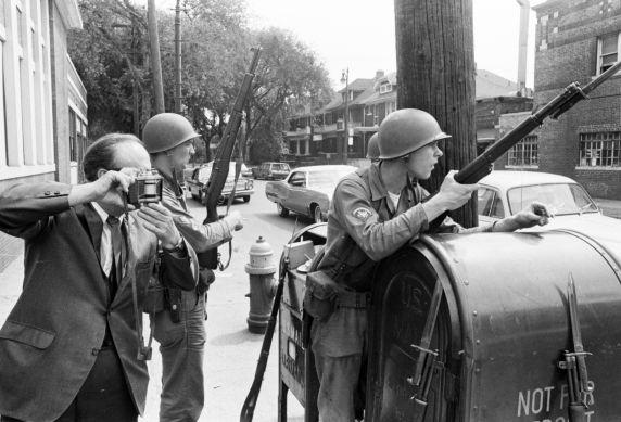 (35794) Riots, Rebellions, National Guard, Media, Detroit, 1967