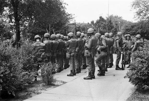 (35795) Riots, Rebellions, U.S. Army, 1967