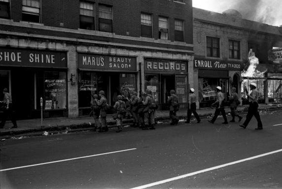 (35797) Riots, Rebellions, Patrols, 1967