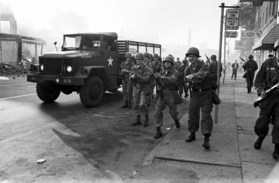 (35800) Riots, Rebellions, National Guard, Patrols, 1967