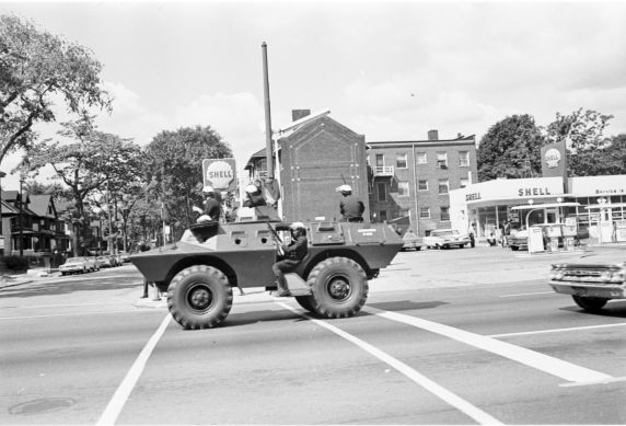 (35801) Riots, Rebellions, Police Patrols, Armoured Vehicles, 1967