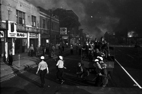 (35803) Riots, Rebellions, National Guard, Patrols, 1967
