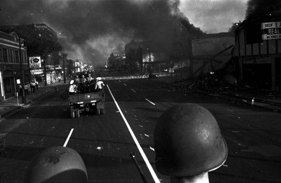 (35804) Riots, Rebellions, National Guard, Patrols, 1967