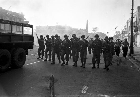 (35807) Riots, Rebellions, National Guard, Patrols, 1967