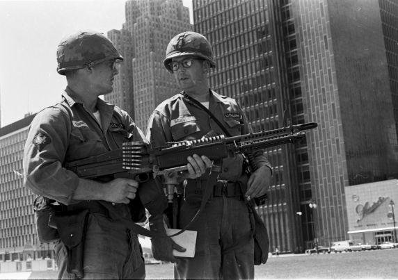 (35811) Riots, Rebellions, Natinal Guardsmen, 1967