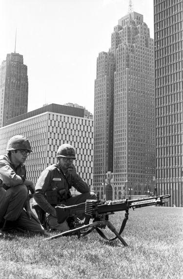 (35812) Riots, Rebellions, Natinal Guardsmen, 1967