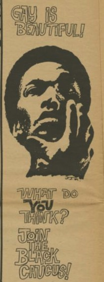 (35943) Clipping from the Gay Liberator, 1970