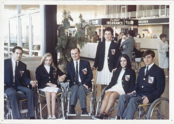 (35994) Wayne State participants in 1968 Paralympic Team