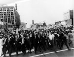 """(360) Civil Rights, Demonstrations, """"Walk to Freedom,"""" Detroit, 1963"""