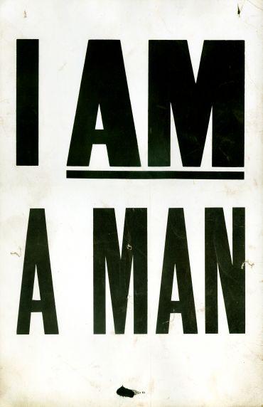 (37622) I AM A MAN poster