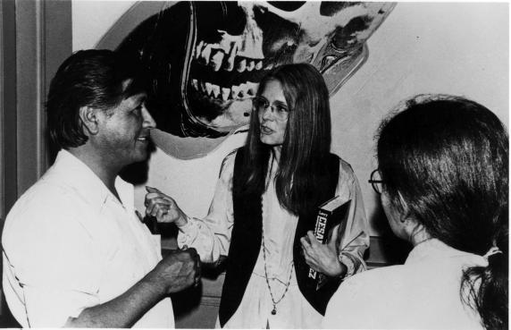 (3771) Cesar Chavez and Gloria Steinem