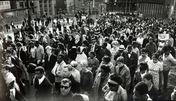 (38253) Demonstrations, Detroit, 1960s