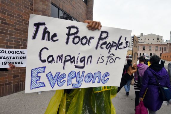 (38419) Michigan Poor People's Campaign, Demonstrations, 2018