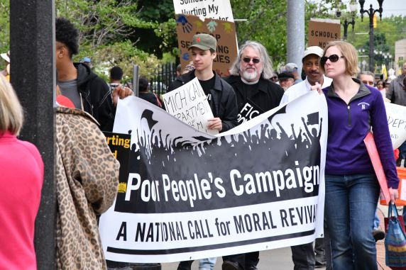 (38421) Michigan Poor People's Campaign, Demonstrations, 2018