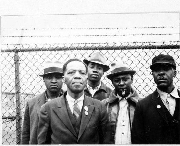 (3880) Roscoe Van Zandt, African American workers, Flint, Michigan