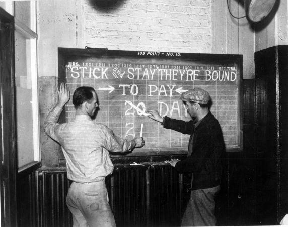 (3882) Strike calendar, Flint, Michigan
