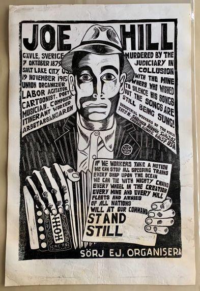 (46035) Poster, Joe Hill, 1979