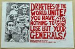 (46036) Posters, Anti-War Movement, Military Drafts, 1980s