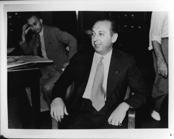 (4322) Purple Gang, Arrests, Burnstein, 1940
