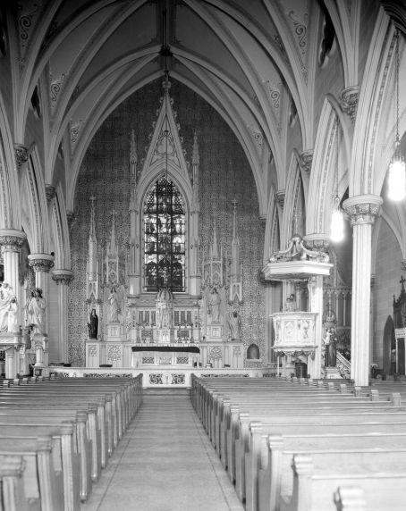 (DN_44) Ethnic Communities, Irish, Corktown, Churches, Most Holy Trinity, 1930