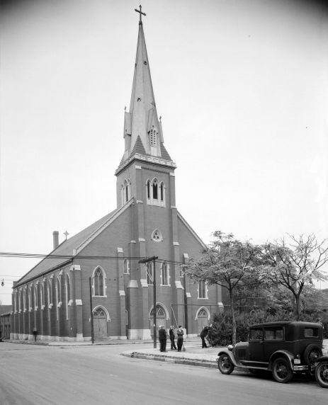 (DN_44_1) Ethnic Communities, Irish, Corktown, Churches, Most Holy Trinity, 1930