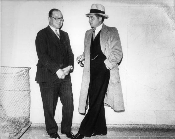 """(4570) Purple Gang, Arrests, Joe """"Little Joey"""" Burnstein, 1940s"""