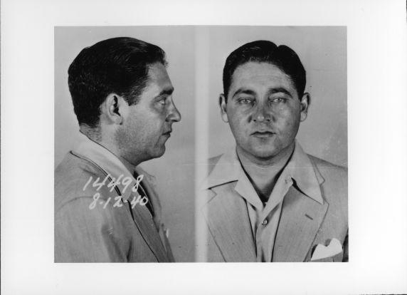 """(4576) Purple Gang, Arrests, Joe """"Little Joey"""" Burnstein, 1940"""