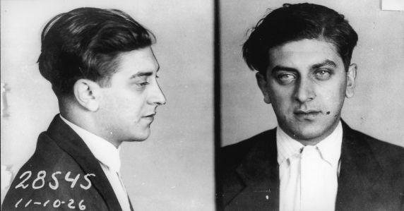 (4585) Purple Gang, Arrests, Raymond Burnstein, 1926