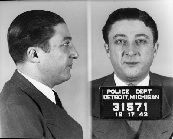 """(4587) Purple Gang, Arrests, Isadore """"Izzy"""" Burnstein, 1943"""
