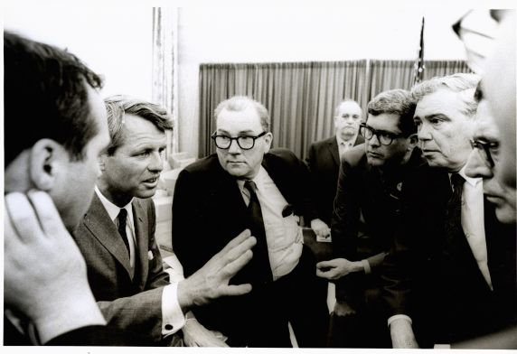 (46017) RFK with Jack Conway
