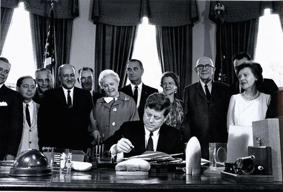 (46019) JFK signs bill