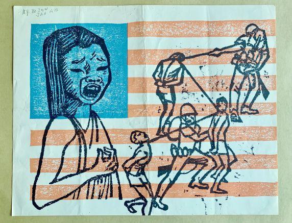 (46041) Posters, Anti-War Movement, 1973