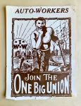 """(46043) Posters, """"One Big Union,"""" Auto Workers, Undated"""