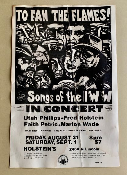 (46052) IWW Songs, Concerts, 1984